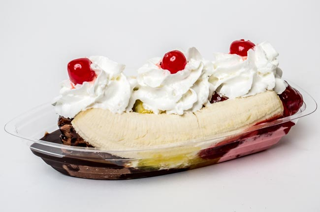 Ritchey's Dairy Banana Split