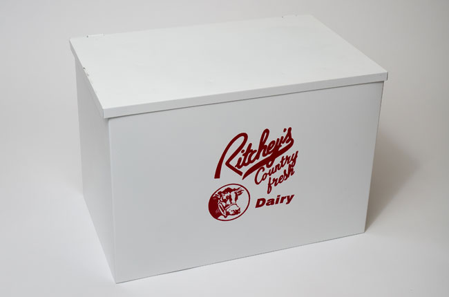 Ritchey's Dairy Home Delivery Box