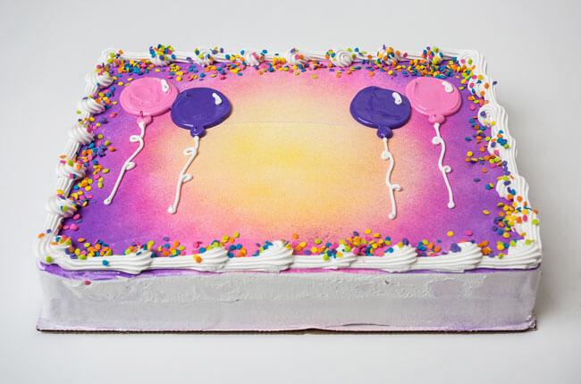Ritchey's Dairy Ice Cream Cake
